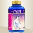 Gravital® - XXL economy balení 180 tbl., multivitaminy pro těhot